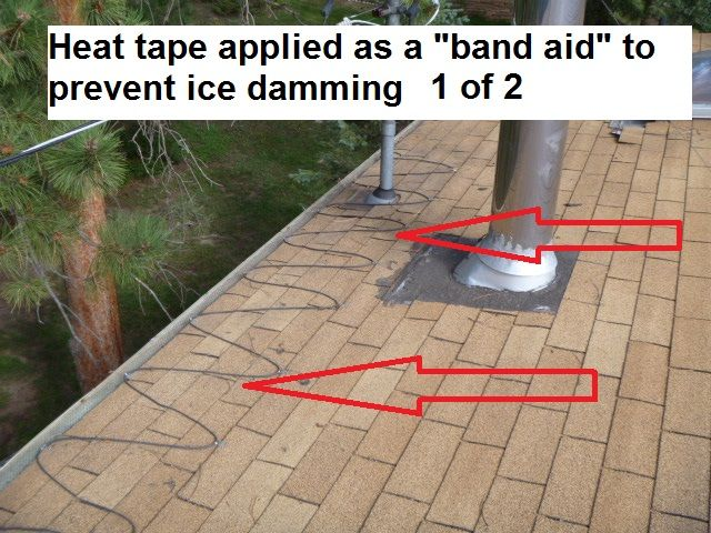 Ice Damming Is A Common Problem In Mountain Properties Here You