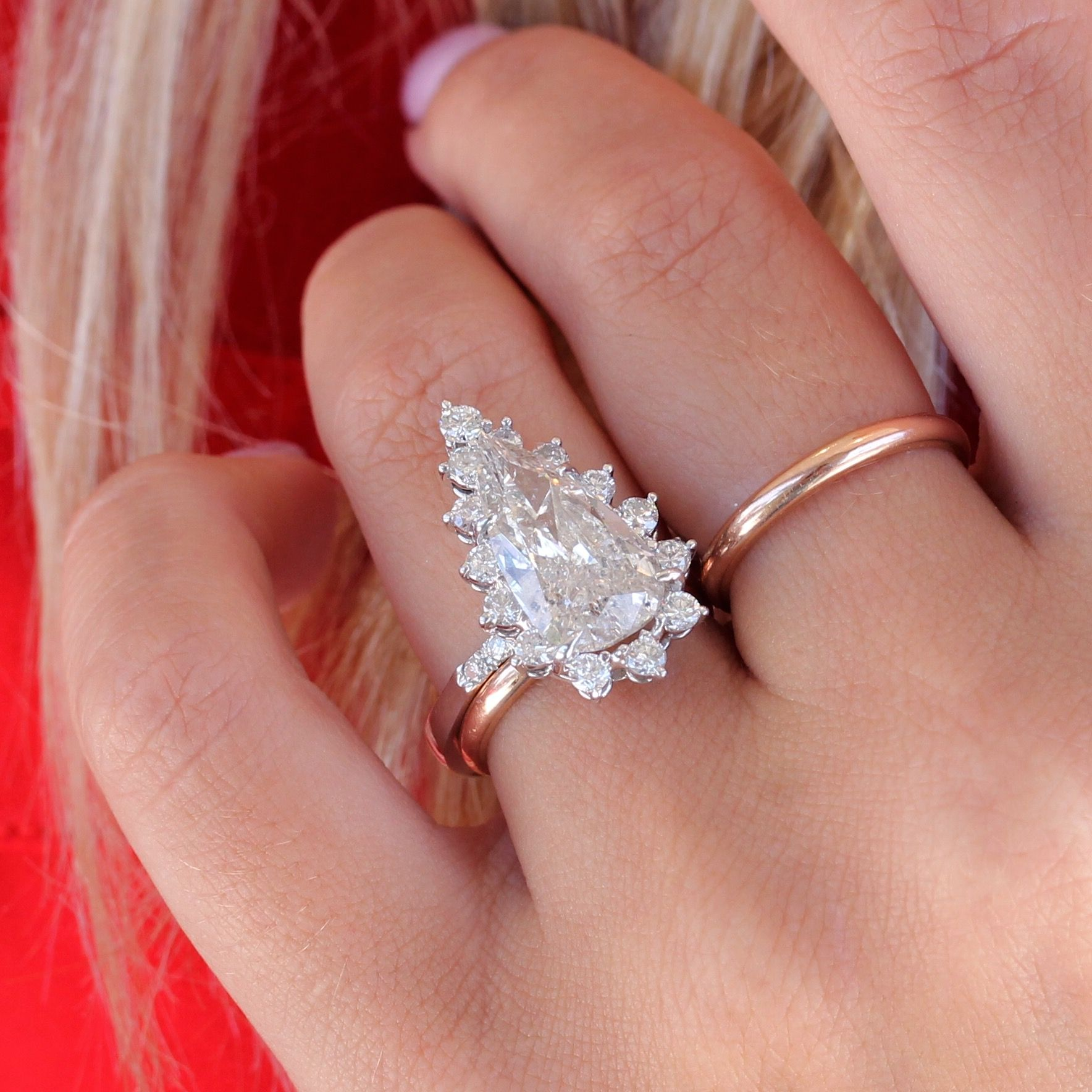 Inspirational Unique Pear Shaped Diamond Engagement Rings - Best Jewelry