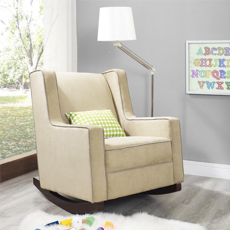 Magnificent Amazon Com Baby Relax The Abby Nursery Rocker Chair Beige Evergreenethics Interior Chair Design Evergreenethicsorg