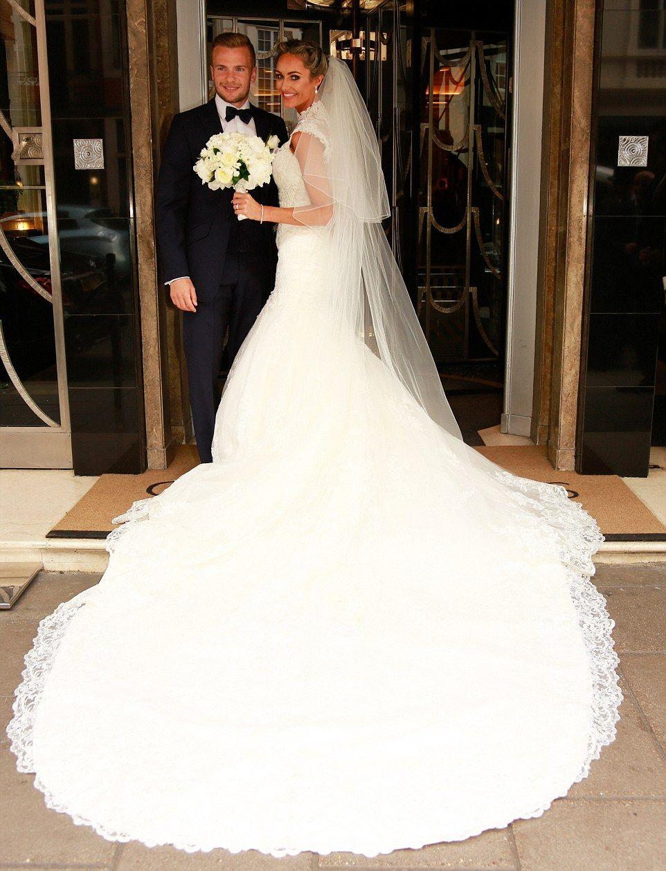 Tom Cleverley marries TOWIE star Georgina Dorsett | Towie stars ...