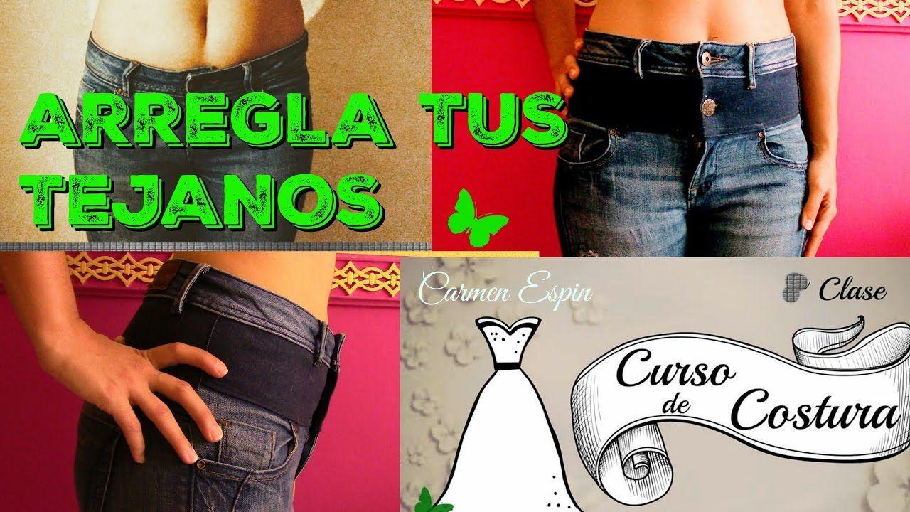 4bbd712b91 De tiro corto a tiro largo diy Remendar Los Pantalones Vaqueros