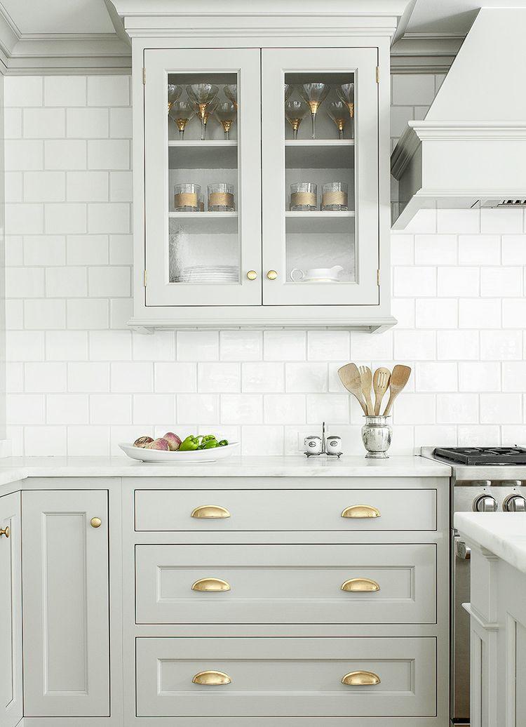 Brass Kitchen Cabinetry Hardware | Küche