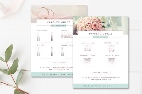 Photography Price Sheet Pinterest Template and Flyer template - Price Sheet Template