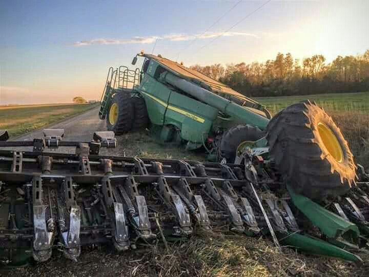 Garden Tractor Pulling Crashes : Farming accidents farmaccidents mishaps farm