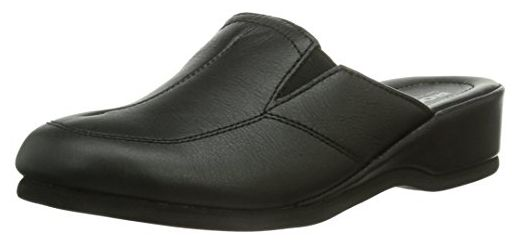 Romika Cora 02, Damen Pantoffeln, Schwarz (schwarz 100), 37 EU (4 Damen UK)