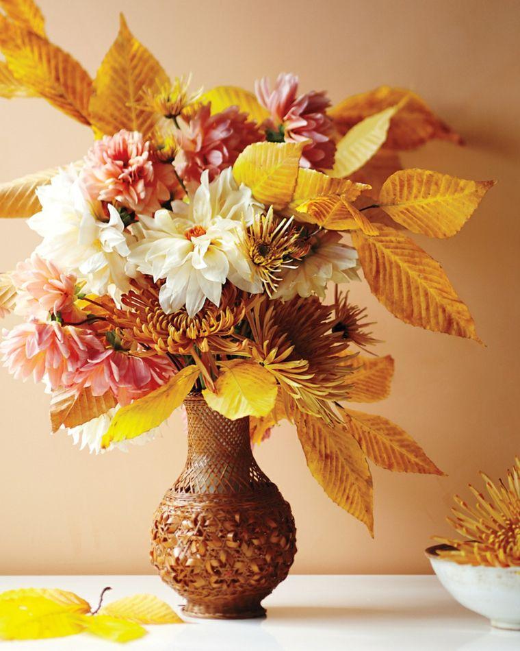 Flores Secas Para Decorar El Interior Decoracion Pinterest - Jarrones-con-flores-secas