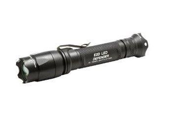 SureFire E2D LED Defender Flashlight. $189 Designed for self-defence. Under 14 cm, 100 grams, 200-lumen beam