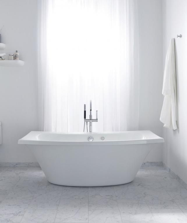 Kohler Escale freestanding bath. Also available as an inset & with ...