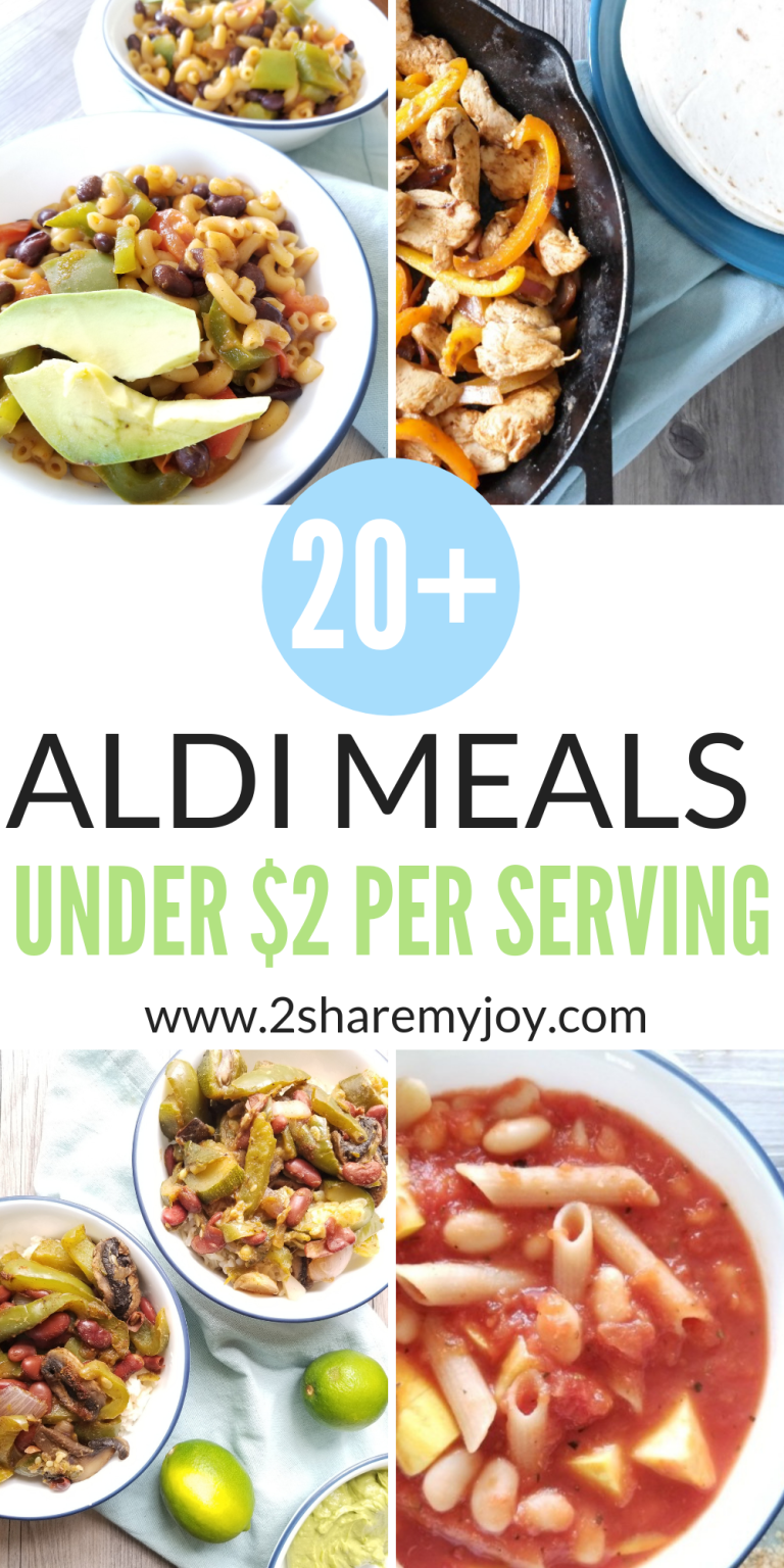 20+ Aldi Meals – Cheap Dinner Recipes Under $2 Per Serving images
