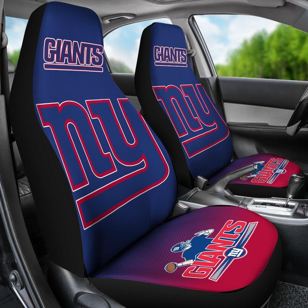 New York Giants Seat Belt Pads