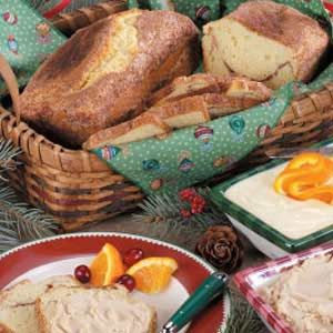 Cinnamon Swirl Almond Bread Recipe | TasteSpotting