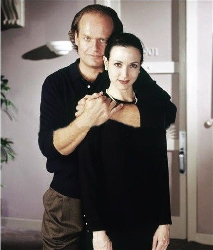 Frasier and Lilith  I always loved them together more than