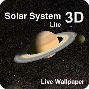 Animated Live 3d Wallpaper Of The Solar System This Lite Version Includes