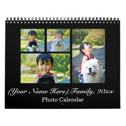 2019 Personalized Custom Photo Collage Calendar Templates Cyo