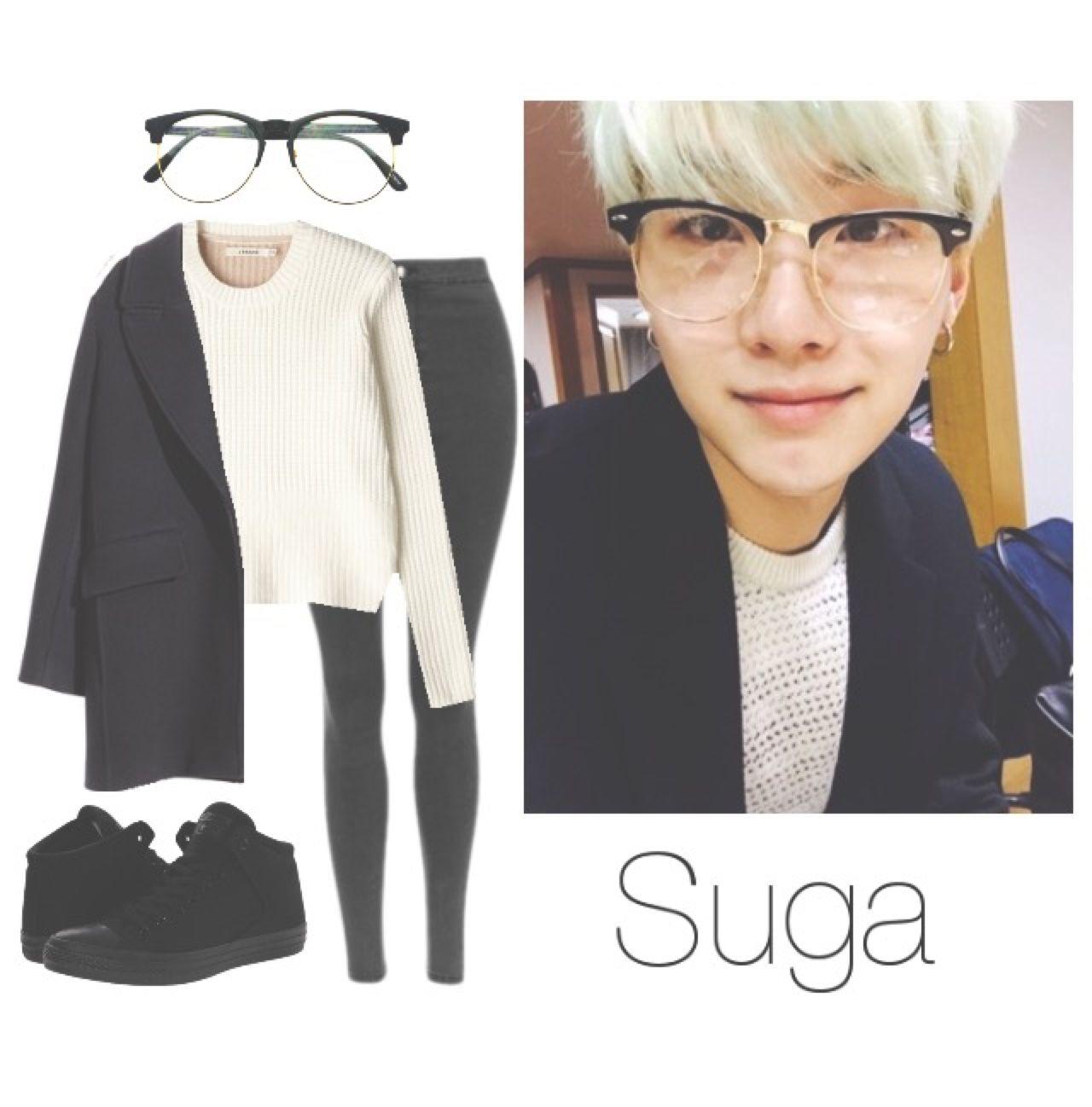 BTS Suga/Yoongi Selca insp. Outfit @BTSOufits | BTS outfits | Pinterest | Bts suga BTS and Kpop
