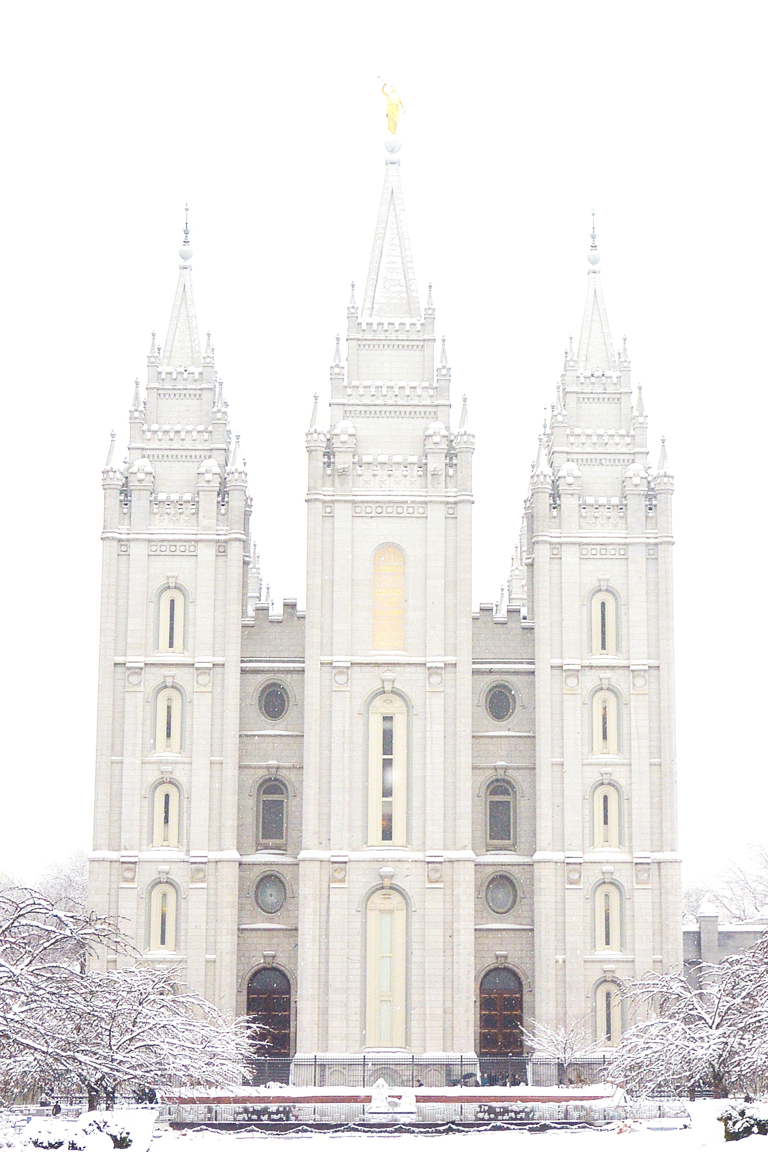 Salt Lake City Temple | castles and fairy tales  | Lds temple