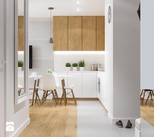 Aranżacje Wnętrz Hol Przedpokój Projekt Mieszkania Kraków Nowe