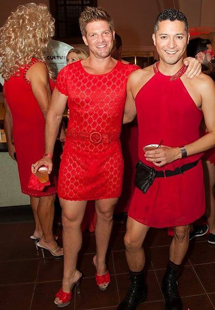 Photo From Red Dress Party San Go It S A Start