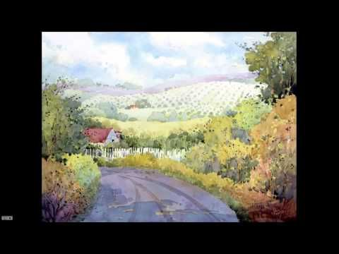 Painting Beautiful Watercolor Landscapes with Joyce Hicks - YouTube