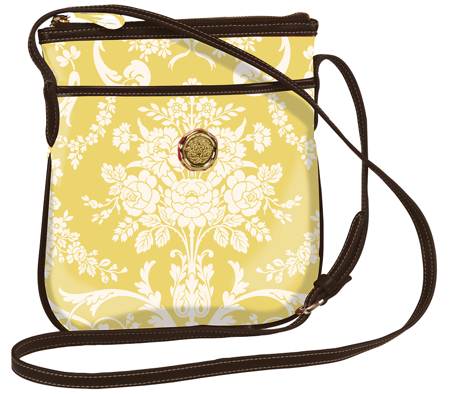2e88ab2d31 Amelie Damask Crossbody - Fabric Accessories