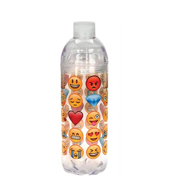 Emoji Reusable Water Bottle 22 Oz Emoji Galore Water Bottle Bottle Reusable Water Bottle