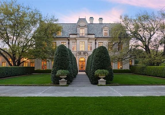 Architect Peter Marino Designed This Gorgeous French Estate On A Private  Lake In The Heart Of The Most Desirable Neighborhood In Dallas, Preston  Hollow.