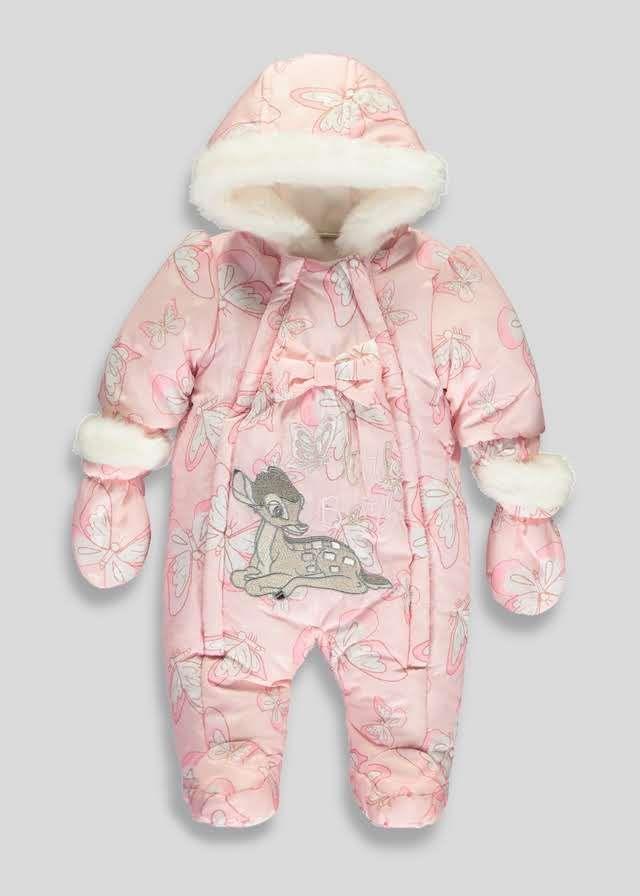 769223836e6f Girls Disney Bambi Snowsuit (Newborn-18mths) View 1