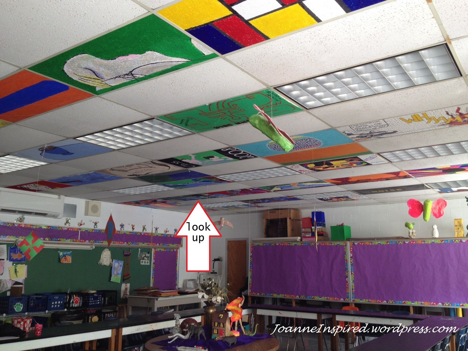 Image result for painted ceiling tiles in schools mural ideas image result for painted ceiling tiles in schools dailygadgetfo Choice Image