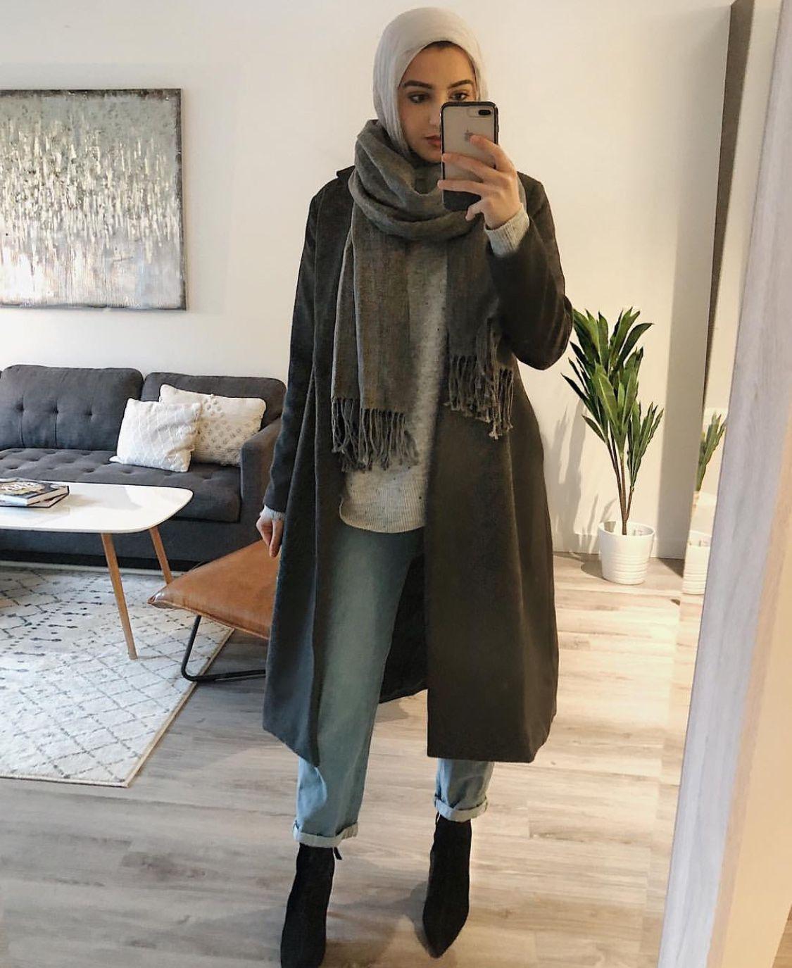 Pin by Saima on Winter outfits  Hijabi outfits casual, Hijab