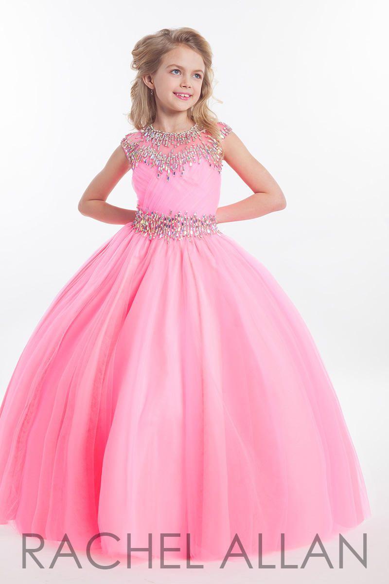 Rachel Allan Perfect Angels Dress Style 1609 | Pretty In Pink ...