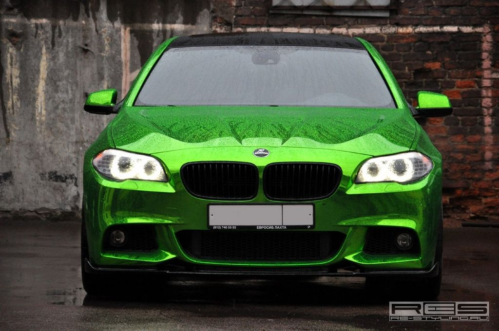 Chrome Green Bmw 5 Series We Do Not Intend To Enter The Topic Of