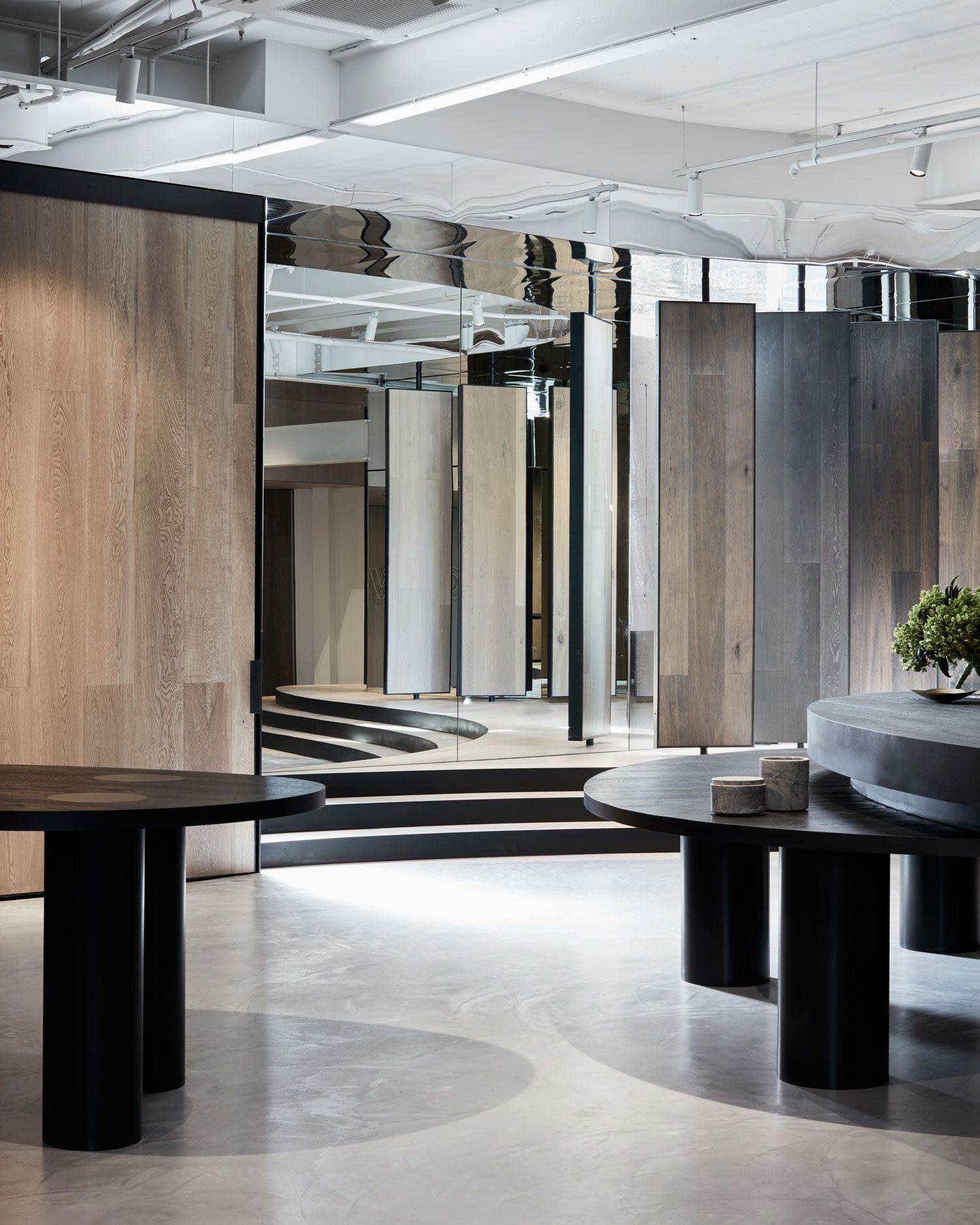 Woodcut Showroom in Sydneys Waterloo by Mim Design Showroom