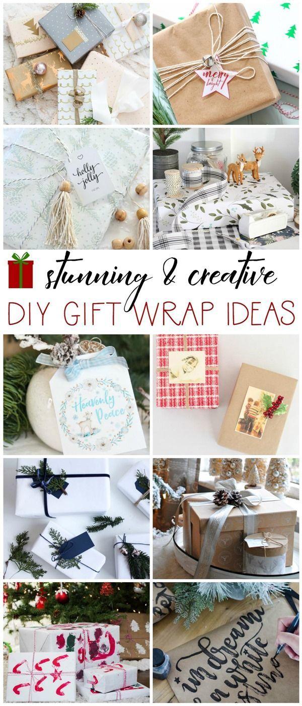 Creative DIY gift wrap ideas