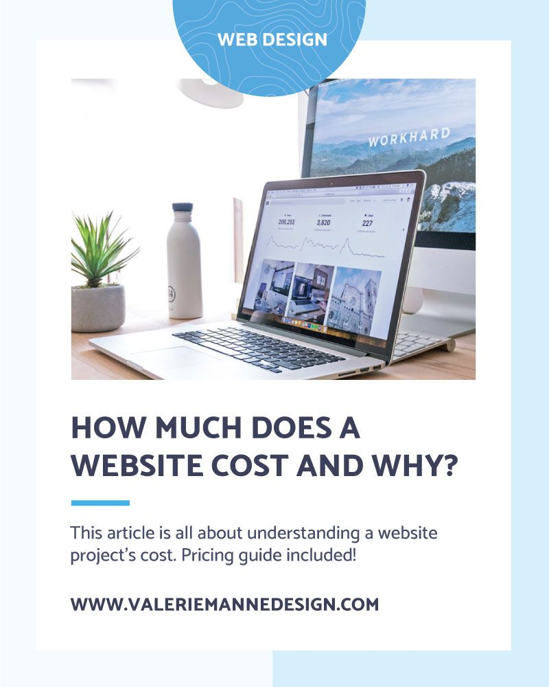 How Much Does a Website Cost and Why? Valerie Manne