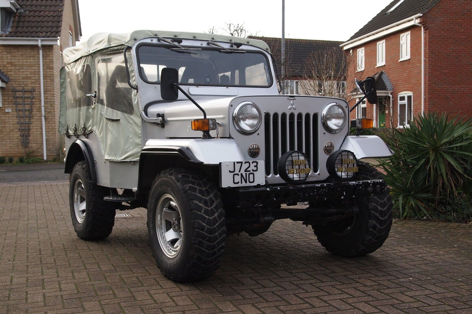 Mitsubishi Willys Jeep J 53 4x4 Not Landrover Or Hilux Or Shogun