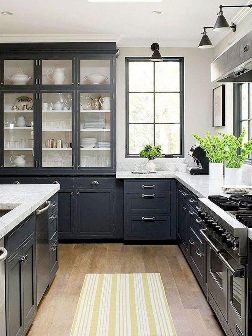 Adorable 65 Gray Kitchen Cabinet Makeover Design Ideas Https Domakeover Com 65 Gray Kitchen Ca Grey Kitchen Cabinets Kitchen Remodel Small Kitchen Renovation