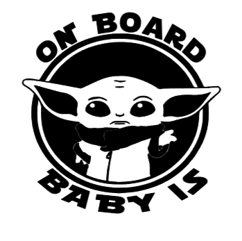 On Board Baby Is Decal