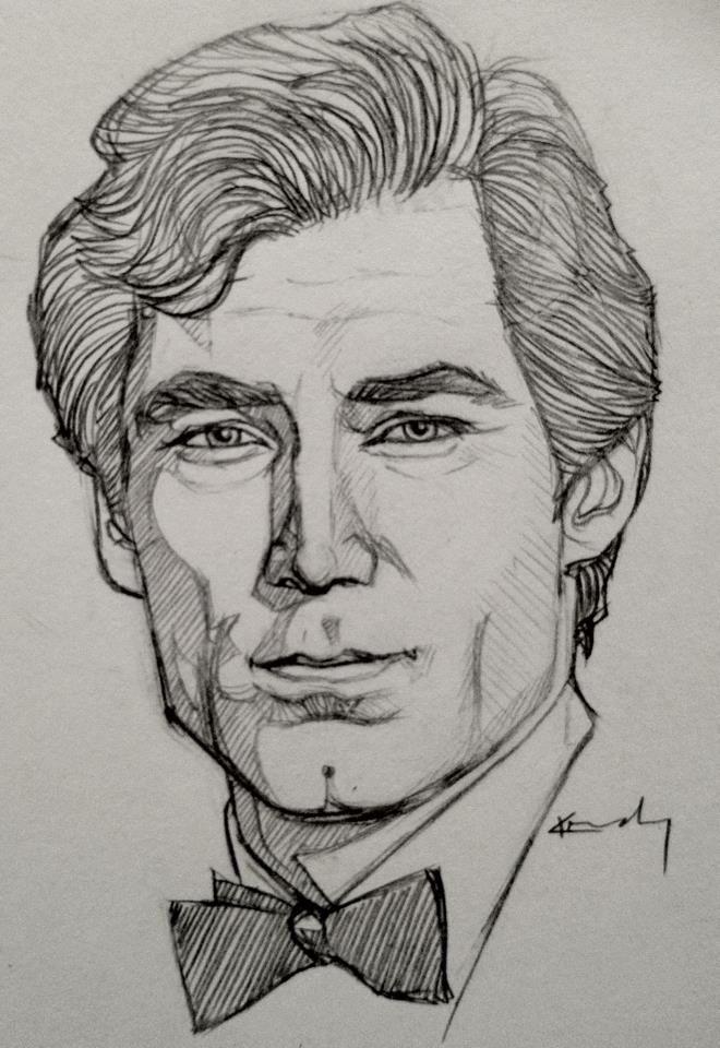 Imagini pentru portrait sketch