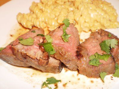 Most Delicious Dishes: Marinated Filet Mignon