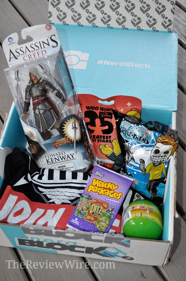 Nerd Block Monthly Subscription Boxes For Nerds March