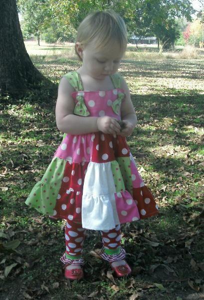 Polka-Dot Twirl Dress Size 3