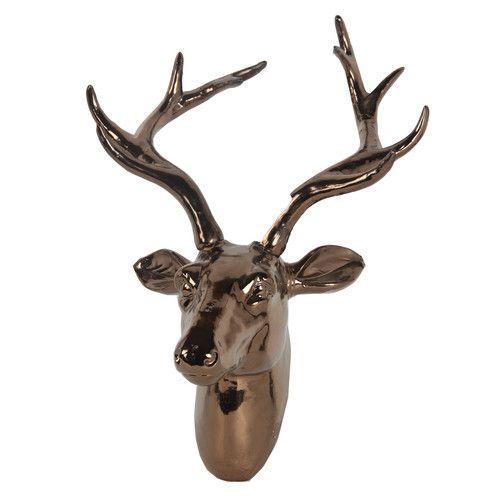 Homemint Ceramic Deer Head Deer Head Deer Heads Wall