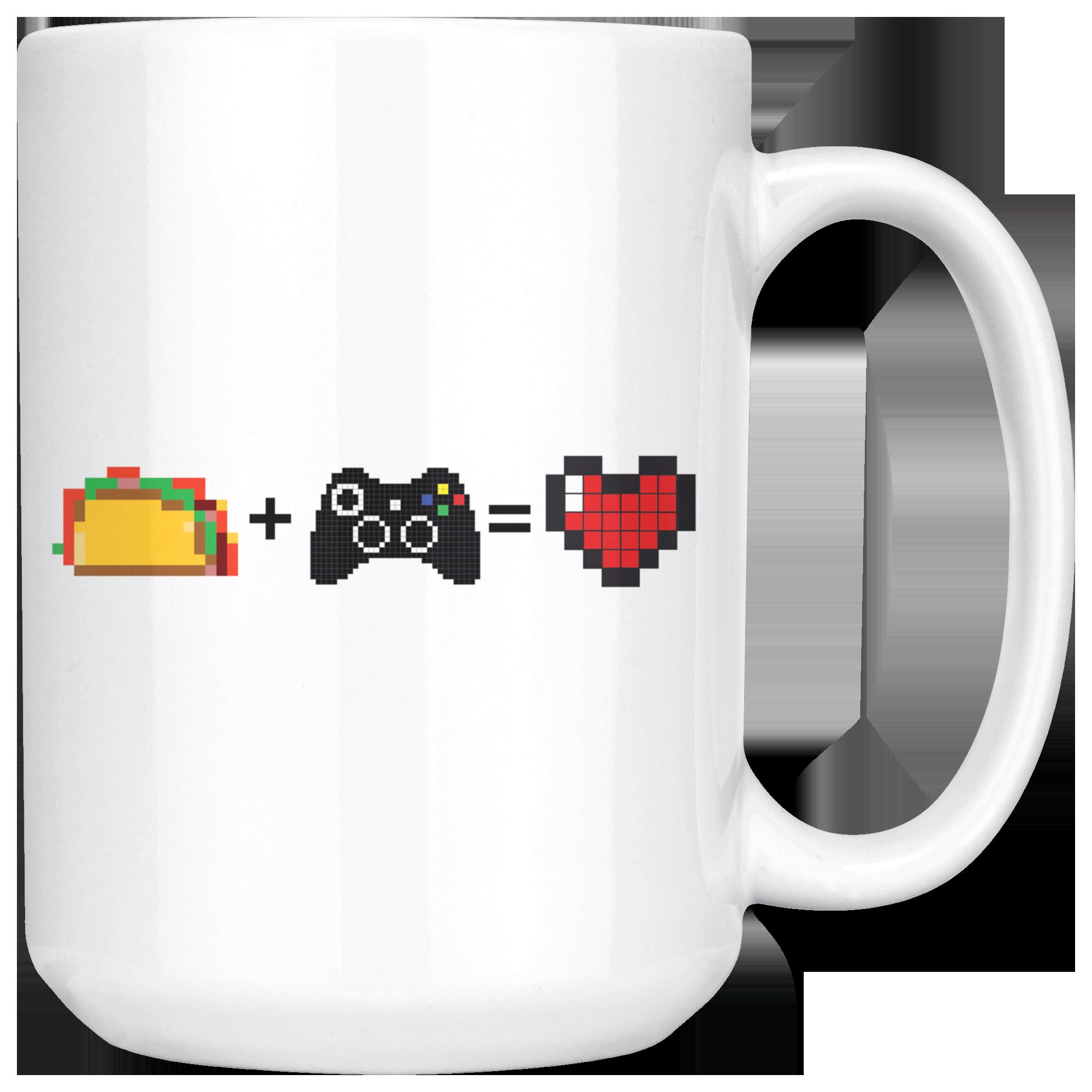 Food + Gaming = Love (Xbox Edition) Mug in 2019 | pottery | Mugs