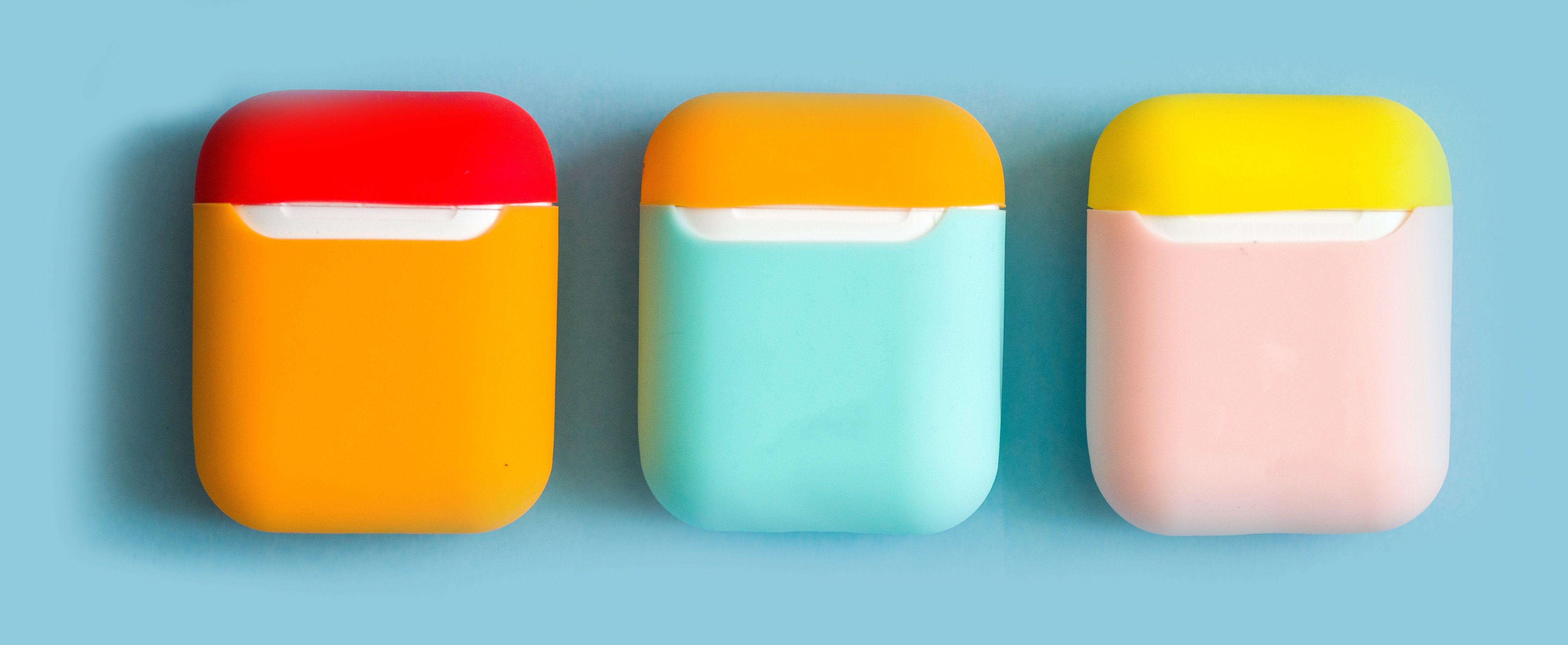 Airpods shockproof silicone case cover in 2020