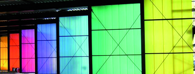 Rodeca polycarbonate sheet - incredible insulation which