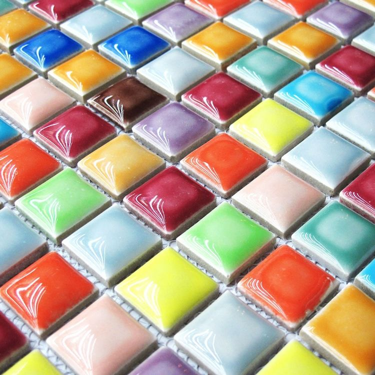 Find More Mosaics Information About Rainbow Colorful Multi Colors