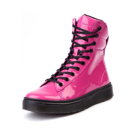 5de920990949 Shop for Womens Dr. Martens Mix Boot in Pink Patent at Journeys Shoes. Shop  today for the hottest brands in mens shoes and womens shoes at Journeys.com.