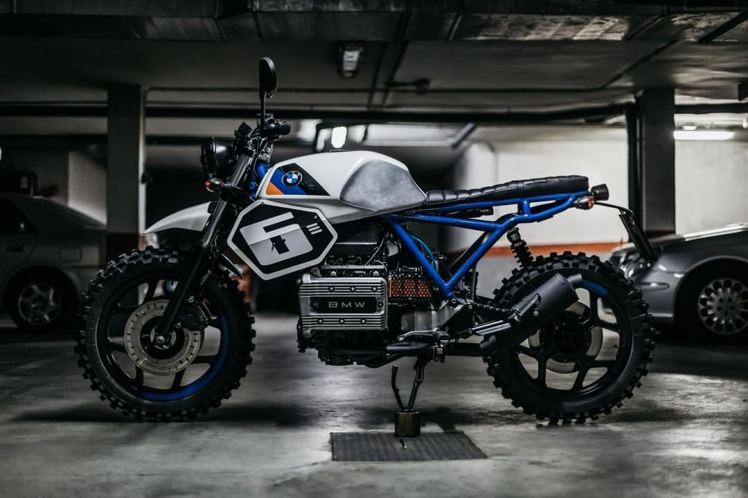 BMW K75 Scrambler by The Foundry MotorCycles (@thefoundrymc) #motorcycles #scrambler #motos | caferacerpasion.com