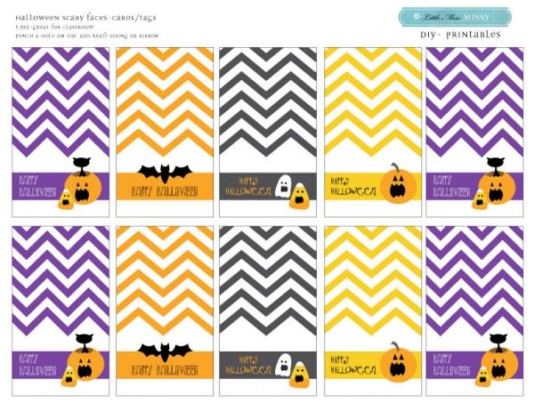 65 free halloween party printables alilily holidays pinterest