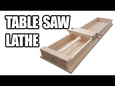 Straight Edges And Tapers On The Table Saw Plans Included